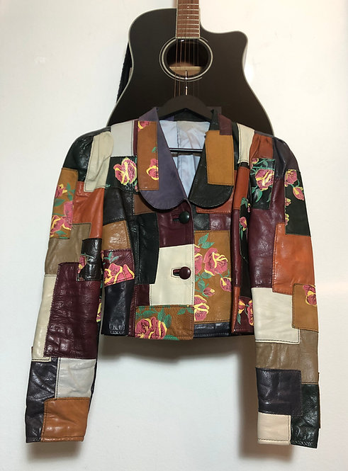GANDALF THE WIZARD PATCHWORK JACKET FROM THE 1970'S