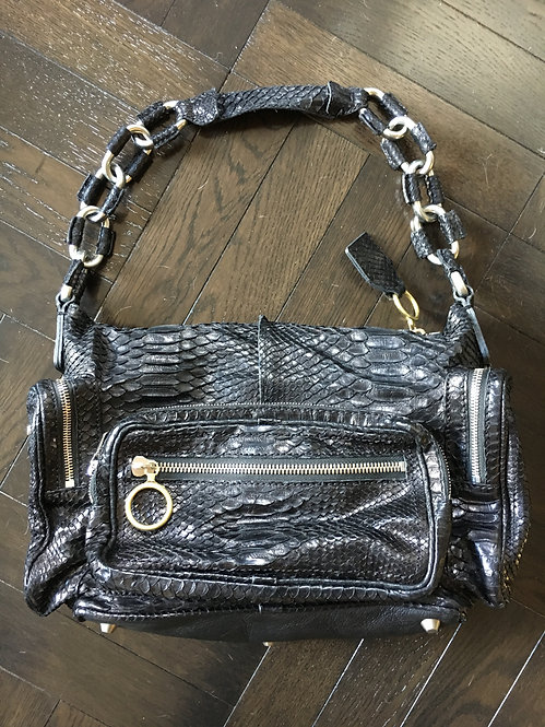 Chloe Betty Bag in Genuine Python
