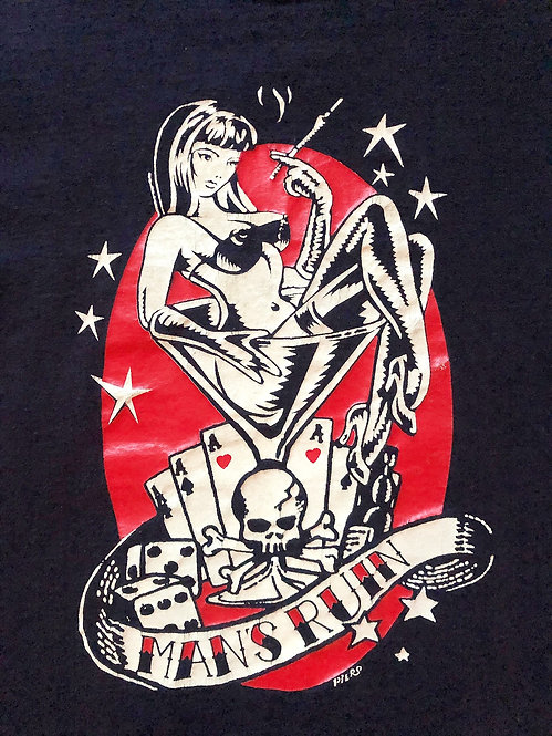 Vintage Man's Ruin T-shirt from the 1990's