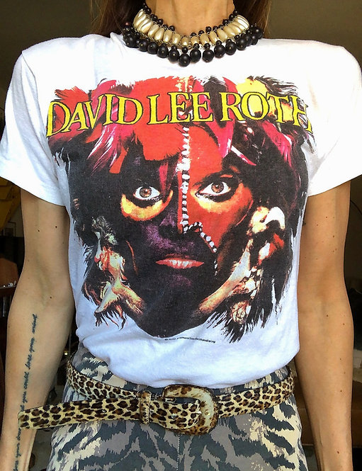 Vintage David Lee Roth T-shirt from 1986