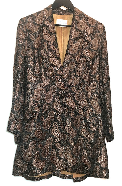 Glam Rock Paisley Dinner Jacket from 1950's