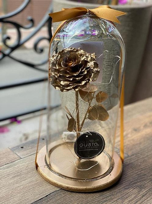 Rosa Eterna Lluvia de Oro