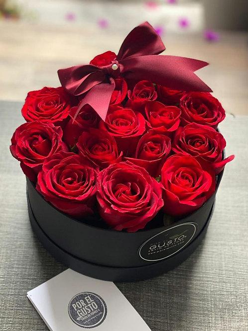 Caja Círculo Romance