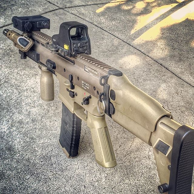 _vegaforcecompany_usa SCAR-L is back up and running after I fixed the hopup issue