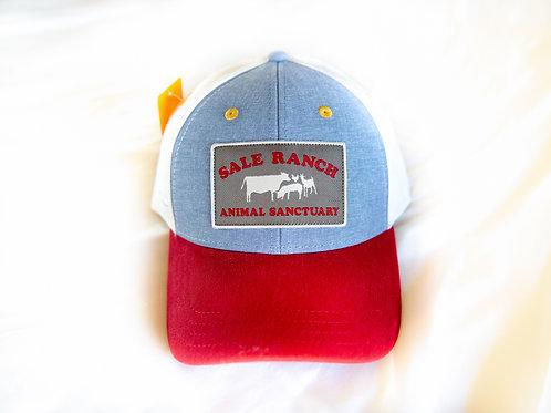 Blue & Red Trucker Cap