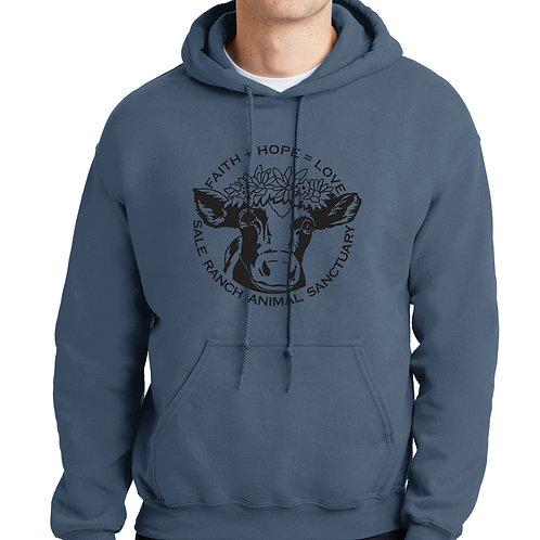 copy of SRS Hooded Sweatshirt - Unisex - Indigo Blue