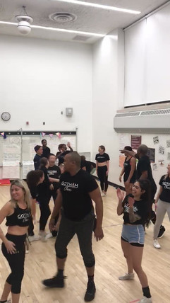 Gotham cheer team practice.mov