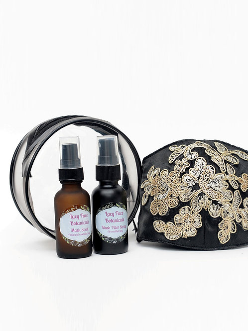 Lacy Face© aromatherapy Silk Spray and Cleansing Soak