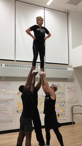 gotham gheerleaders stunting show and go's at practice.mov