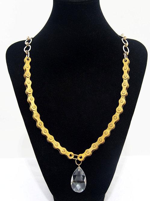 Gold Crystal Drop