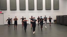 Gotham Cheerleaders group cheer.MOV