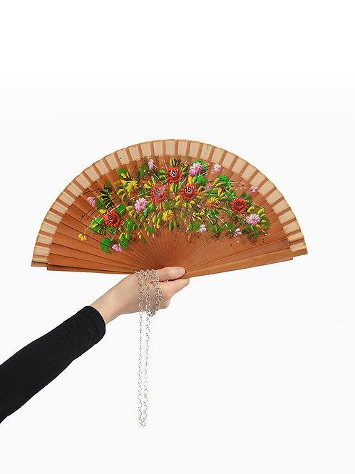 Wild Flowers Fan Necklace