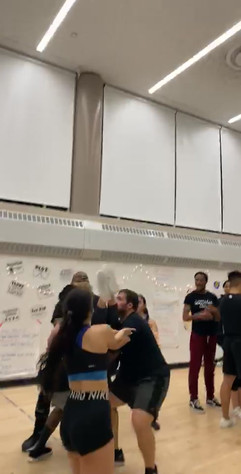gotham cheerleaders basket toss.mov