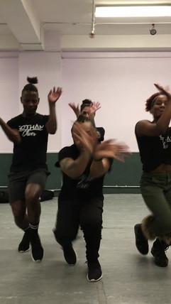 gotham cheerleaders vouge practice.mov