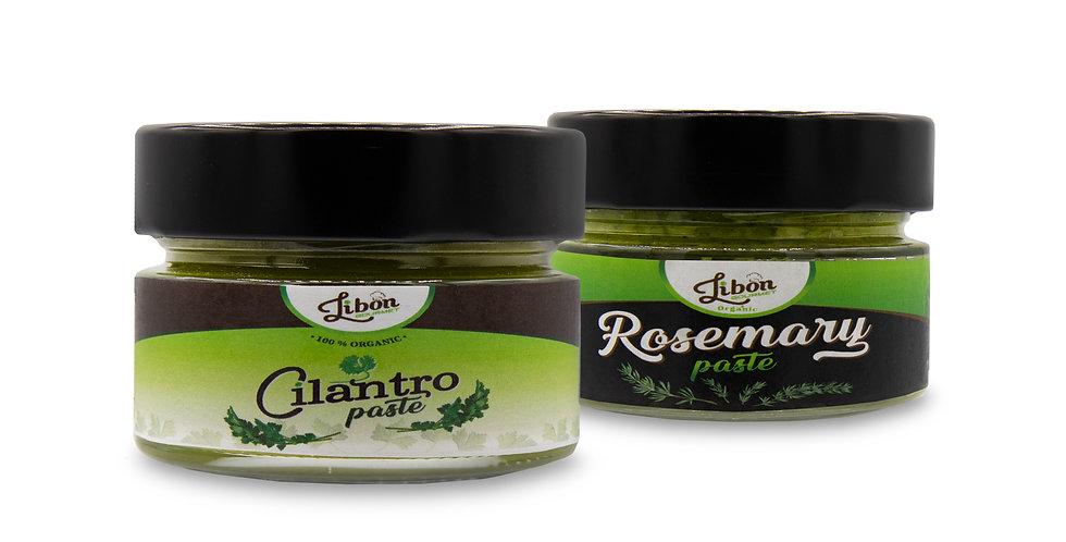 Cilantro & Rosmary Pastes Combo