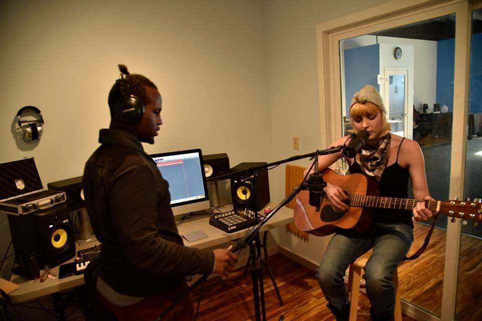 Recording with Annie Tyson