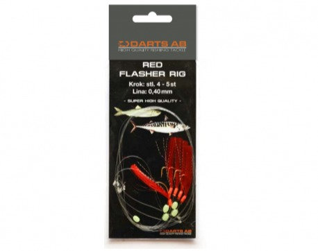Darts Red Flasher Rig