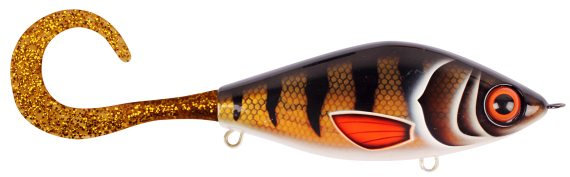 Strike Pro Guppie Junior Golden Perch-Gold/Gold Glitter