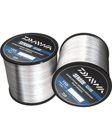 Daiwa Sensor Clear Monofilament Bulk 12lbs/ 0,33mm