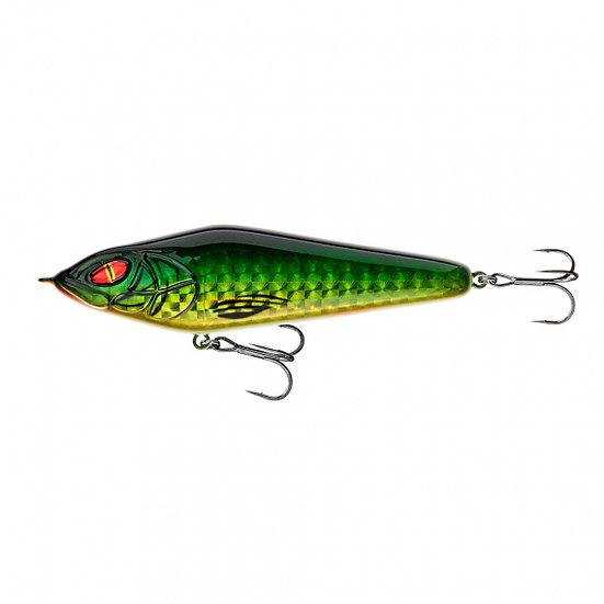 Daiwa Lazy Jerk 155SS Green Flash - Specialcolour