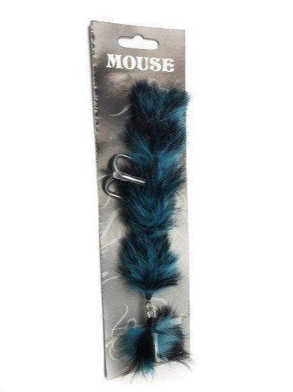 Mouse Fishing Blue Hornet M & L