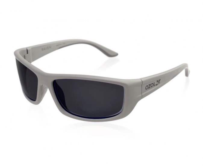 Ozolot Sunglasses Raven Grey Rubber/Black