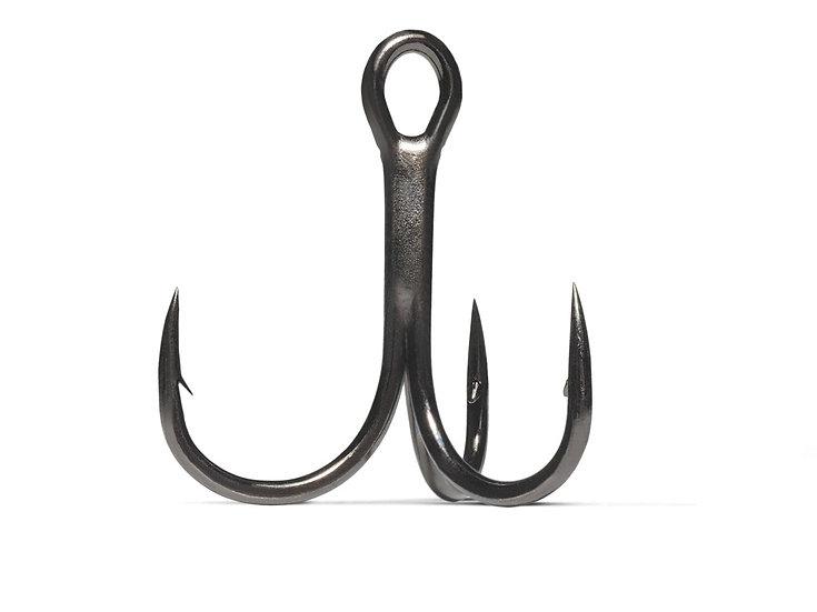 VMC 7547 Costal Black Treble Hooks 5pcs.