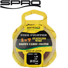 SPRO Pike Fighter 1x7 Stainless Wire