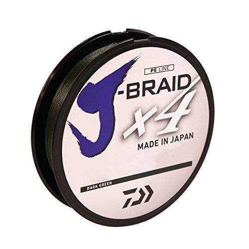 Daiwa J-Braid x4 - Dark Green