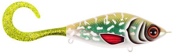 Strike Pro Guppie Downsize Glitter Pike-Green/Gold Glitter