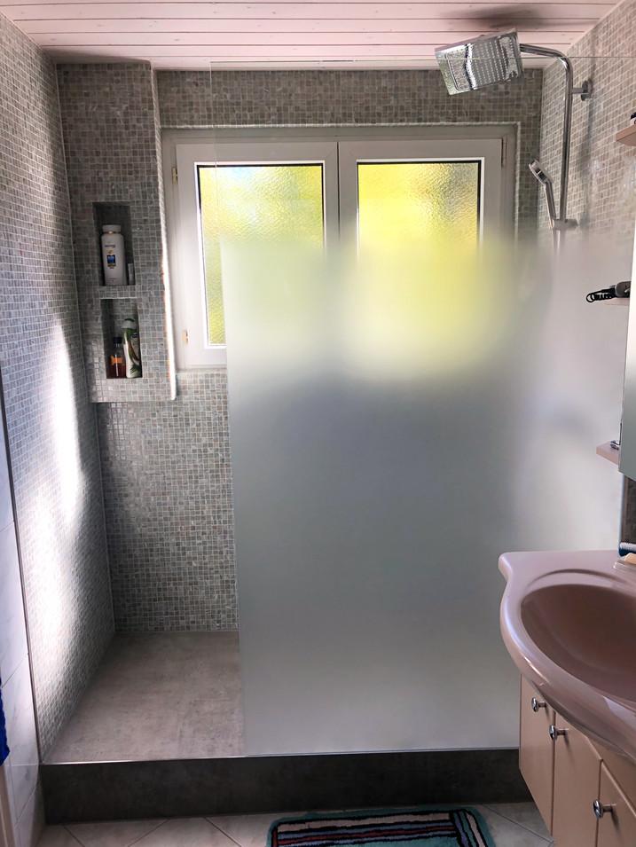 Dusche Ansicht Front