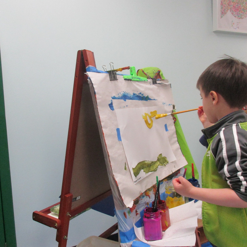 Painting spring images