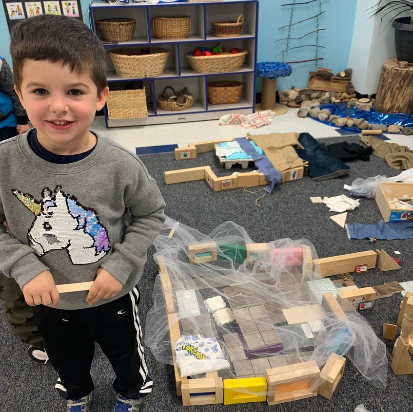I built my own sukkah!