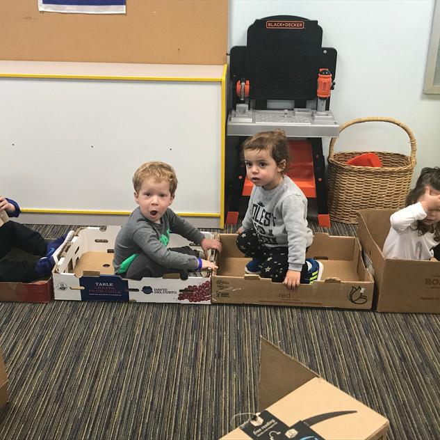 Our box train