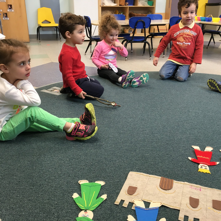 Learning the Purim story