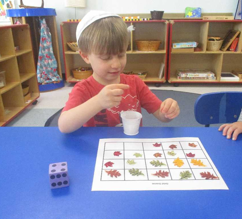 Fall matching game for Sukkot