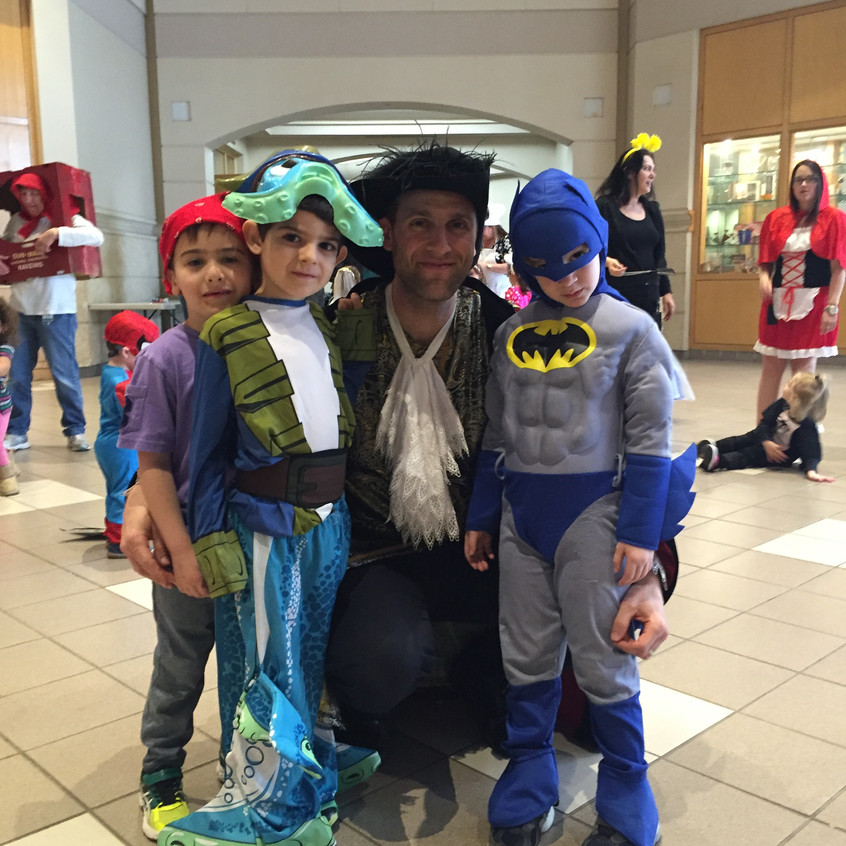 Rabbi Antine and the boys