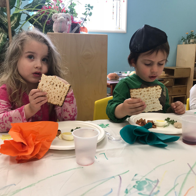 Trying matzah