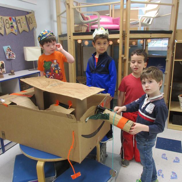 Building a ship