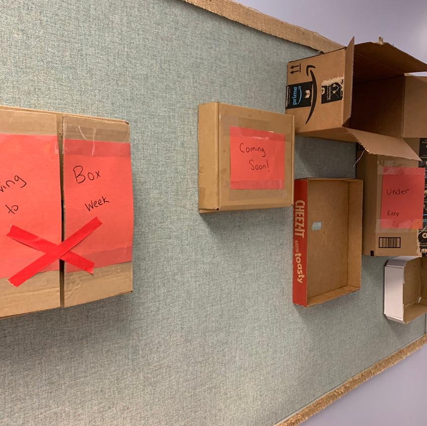 Box Week Display