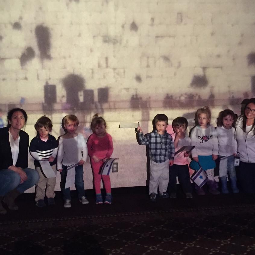 The Shfanim Class at the Kotel.