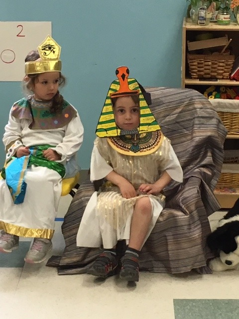 King Pharoah and his queen
