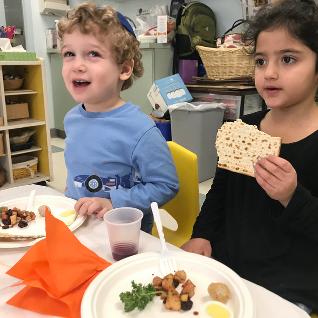 Enjoying the Seder Tasting
