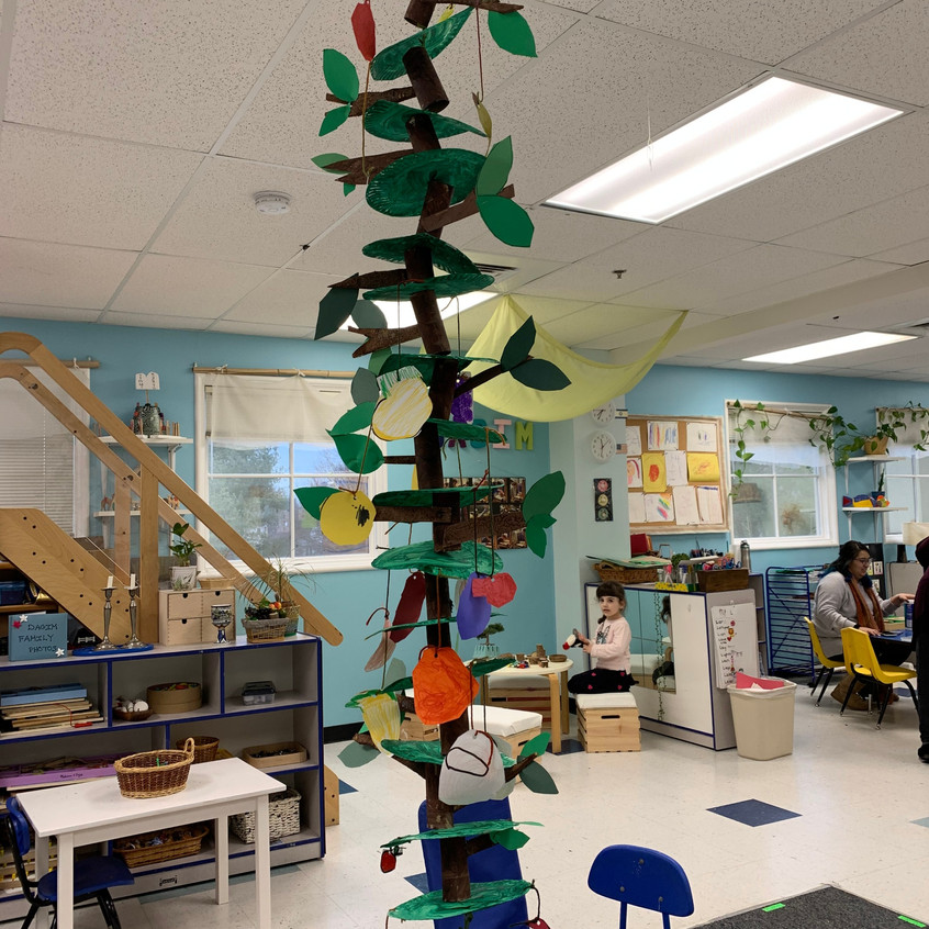 """A """"growing"""" tree"""