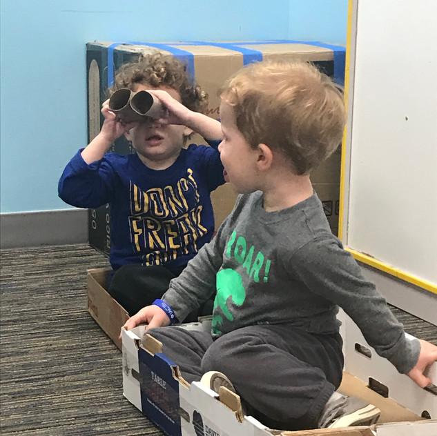 Box week binoculars