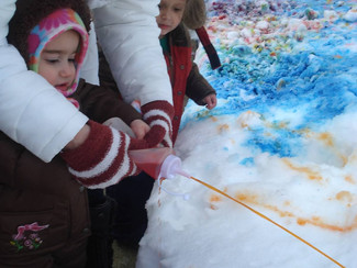 Look what we did with snow!