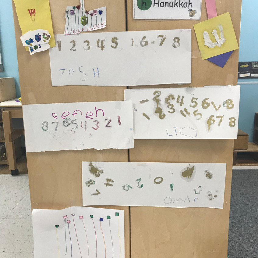 4's Chanukah counting