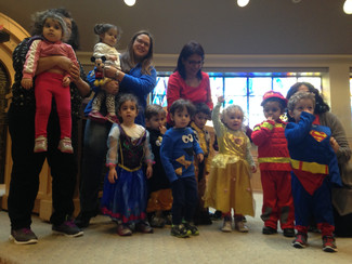 After the snow...Purim arrives at the ECC