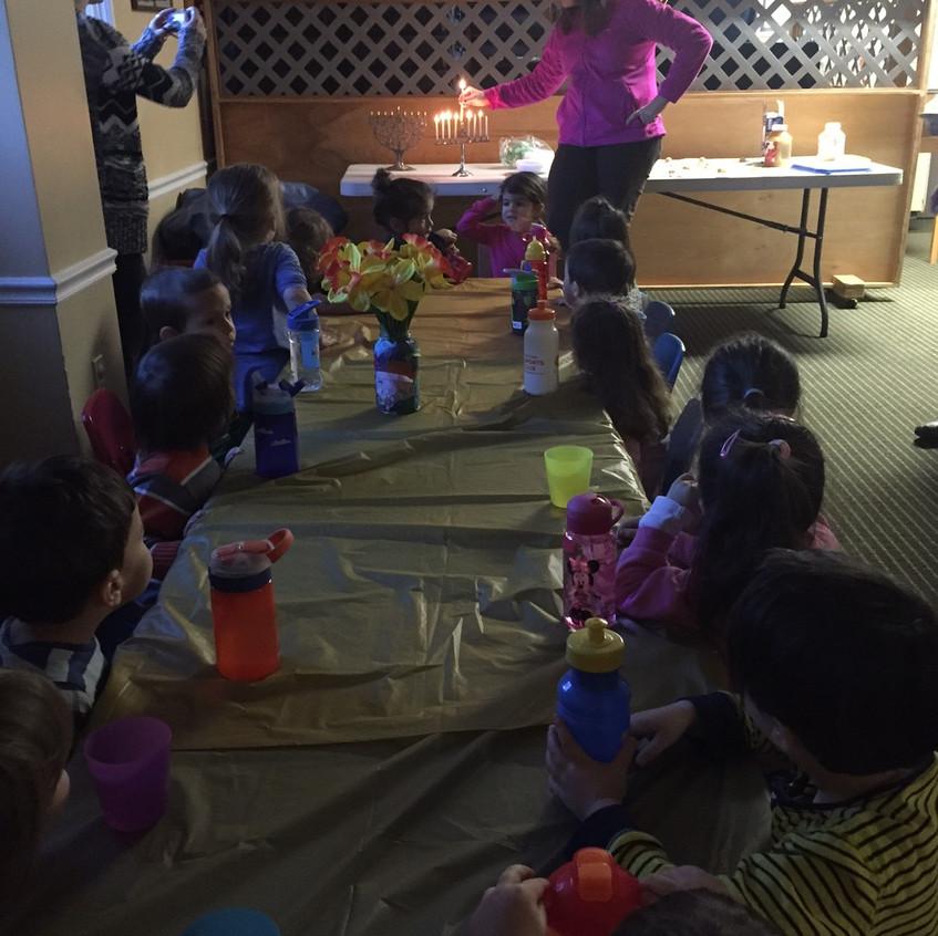 2's Chanukah party