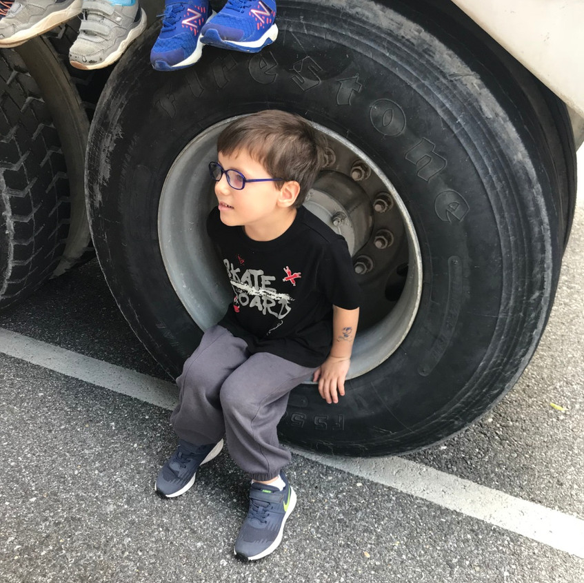 Look at this giant tire!